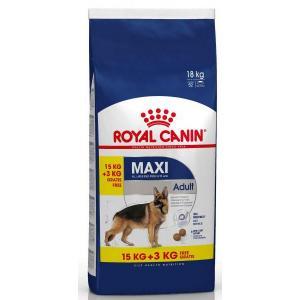 Royal Canin Maxi Adult 15 + 3 kg + DOPRAVA ZDARMA