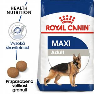 "Royal Canin Maxi Adult 15kg + ""šampon Alavis"" + DOPRAVA ZDARMA"
