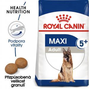 "Royal Canin Maxi Adult 5+ 15kg + ""šampon Alavis"" + DOPRAVA ZDARMA"