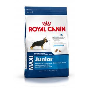 "Royal Canin Maxi Junior 15 kg + ""šampon Alavis"" + DOPRAVA ZDARMA"