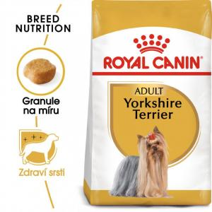 """Royal Canin Mini Yorkshire 7,5 kg + """"šampon Alavis"""" + DOPRAVA ZDARMA"""