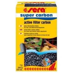 sera super aktivní uhlí 250 g