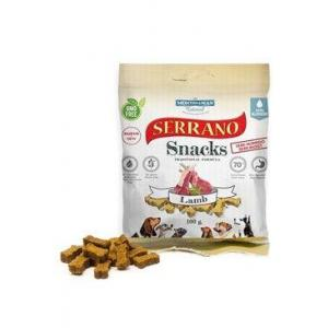 Serrano Snack for Dog-Lamb 100g