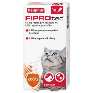 Beaphar Spot On Fiprotec pro kočky od 1 kg