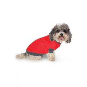 Svetr Liverpool pro psy červený 50cm