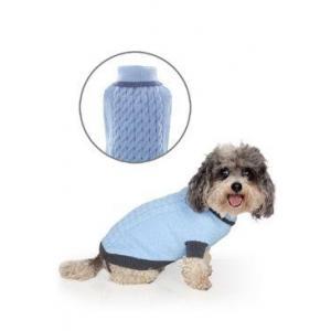 Svetr Liverpool pro psy modrý 25cm