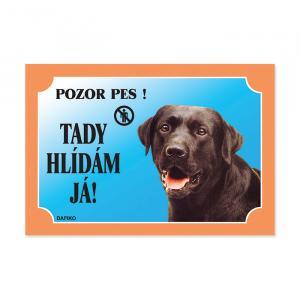 Tabulka labradorský retriever černý