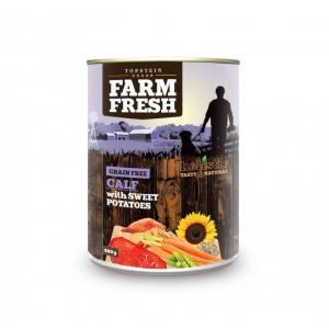 TOPSTEIN Farm Fresh Calf & Sweet Potato 400 g