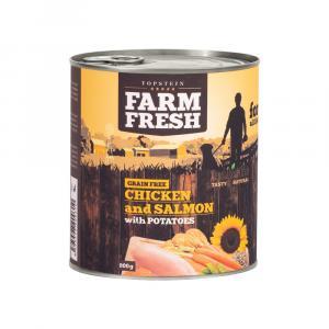 TOPSTEIN Farm Fresh Chicken & Salmon with Potatoes 400 g