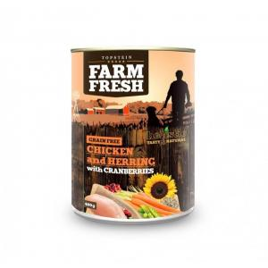 TOPSTEIN Farm Fresh Chicken with Herring, Cranberry 400 g