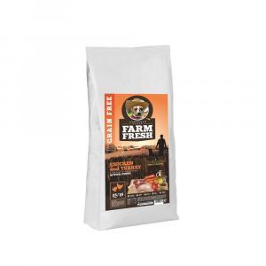 TOPSTEIN Farm Fresh Poultry Active / Puppy 15 kg