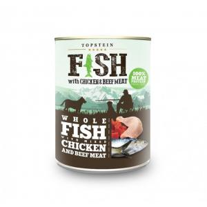 TOPSTEIN Fish with chicken & beef meat 800 g