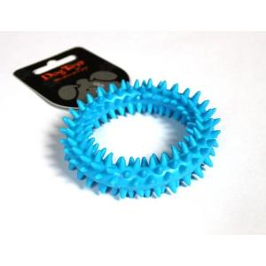 TPR dentální kroužek modrý 9x9x2.2cm