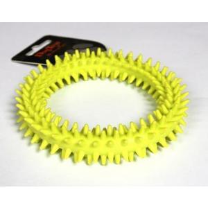 TPR dentální kruh zelený 11.5cm