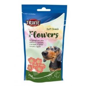 Trixie Flowers jehněč/kuřecí kytičky pro psy 75g TR