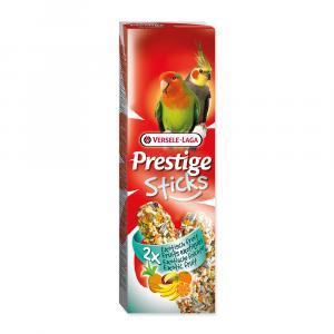 Tyčinky Prestige exotické ovoce pro střední papoušky