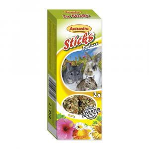 Tyčinky pro velké hlodavce s bylinkami (2ks)