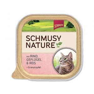 Vanička Schmusy Nature's Menü hovězí + drůbež 100 g