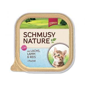 Vanička Schmusy Nature´s Menü Junior losos + jehně 100g