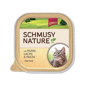 Vanička Schmusy Nature's Menü kuře + losos 100 g