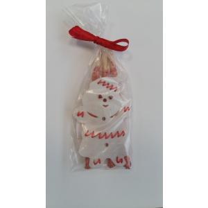 Vánoční Sněhulák velký + 3 Lolli hovězí (DOPRODEJ)