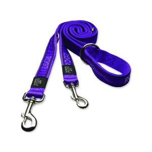 Vodítko Fancy Dress Purple Chrome přepínací L