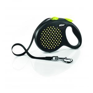 Vodítko Flexi Design L pásek 5m/50kg žlutá