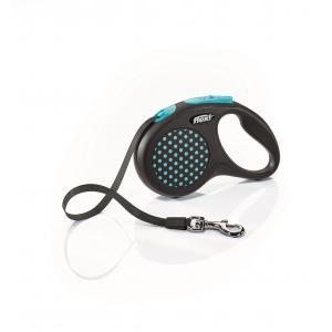 Vodítko Flexi Design S pásek 5m/15kg modrá