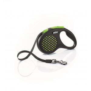 Vodítko Flexi Design S pásek 5m/15kg zelená