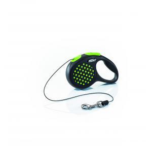 Vodítko Flexi Design XS lanko 3m/8kg zelená