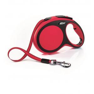 Vodítko Flexi New Comfort L pásek 8m/50kg červená