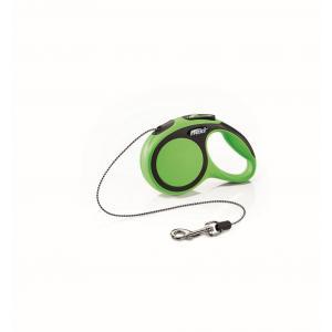 Vodítko Flexi New Comfort XS lanko 3m/8kg zelená