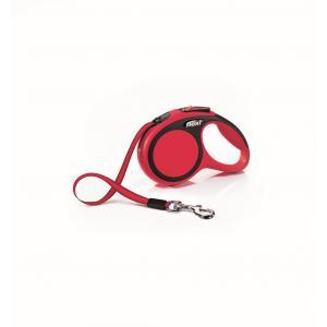 Vodítko Flexi New Comfort XS pásek 3m/12kg červená