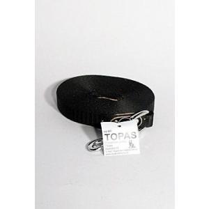 Vodítko nylon stopovací Ploché 10m/20mm Černá 1ks