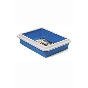 WC Katja otevřené s okrajem 43,5 x 34 x 11 cm modrá