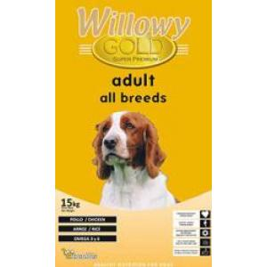 WILLOWY GOLD Dog All Bread Adult 29/15 15kg