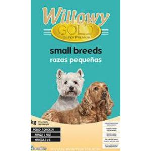 WILLOWY GOLD Dog Small Breed Adult 30/14 10kg